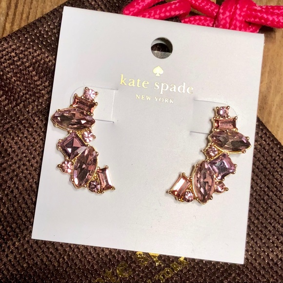 on feet at finest selection best website kate spade Jewelry | New Lilac Cluster Crawler Earrings | Poshmark